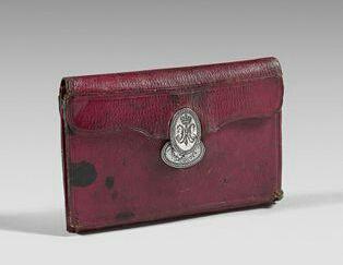 Portefeuilles aux armes de Marie-Antoinette, dauphine. 7b8f9b10