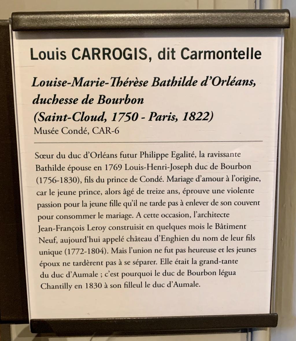 Exposition CARMONTELLE ou la douceur de vivre à Chantilly ! 8026c210