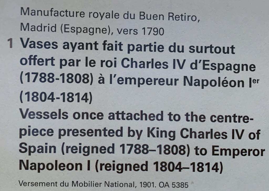 Exposition : Le surtout offert par Charles IV à Napoléon 1er 83f98010