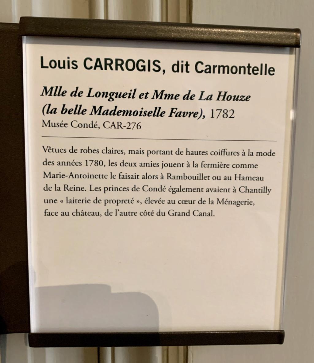 Exposition CARMONTELLE ou la douceur de vivre à Chantilly ! 92cad610