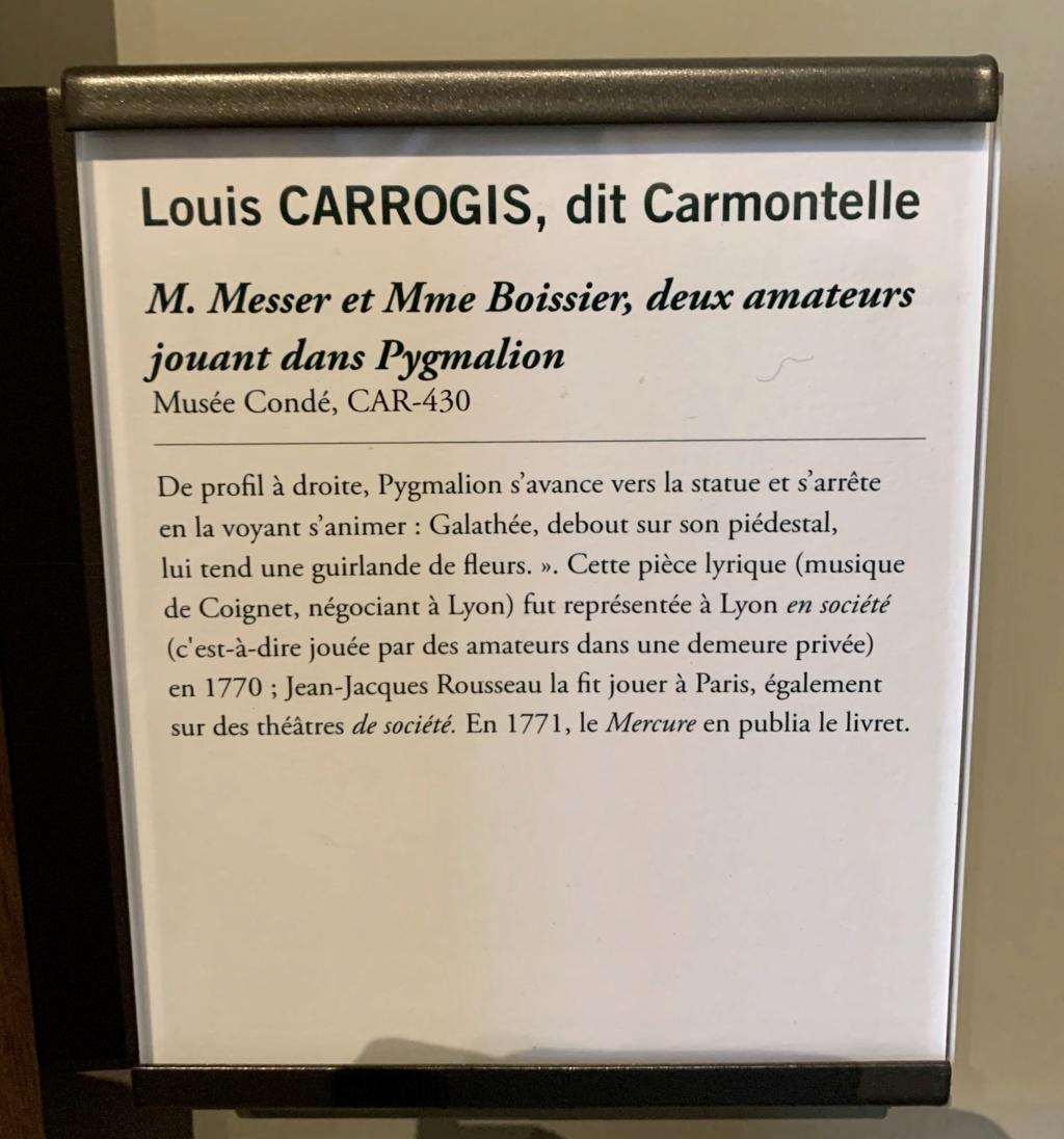Exposition CARMONTELLE ou la douceur de vivre à Chantilly ! 93511710