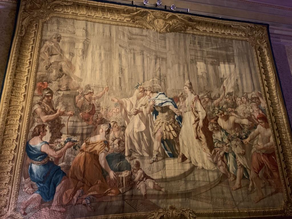 Les visites des archiducs Maximilien et Ferdinand d'Autriche, à Versailles 96fe7210