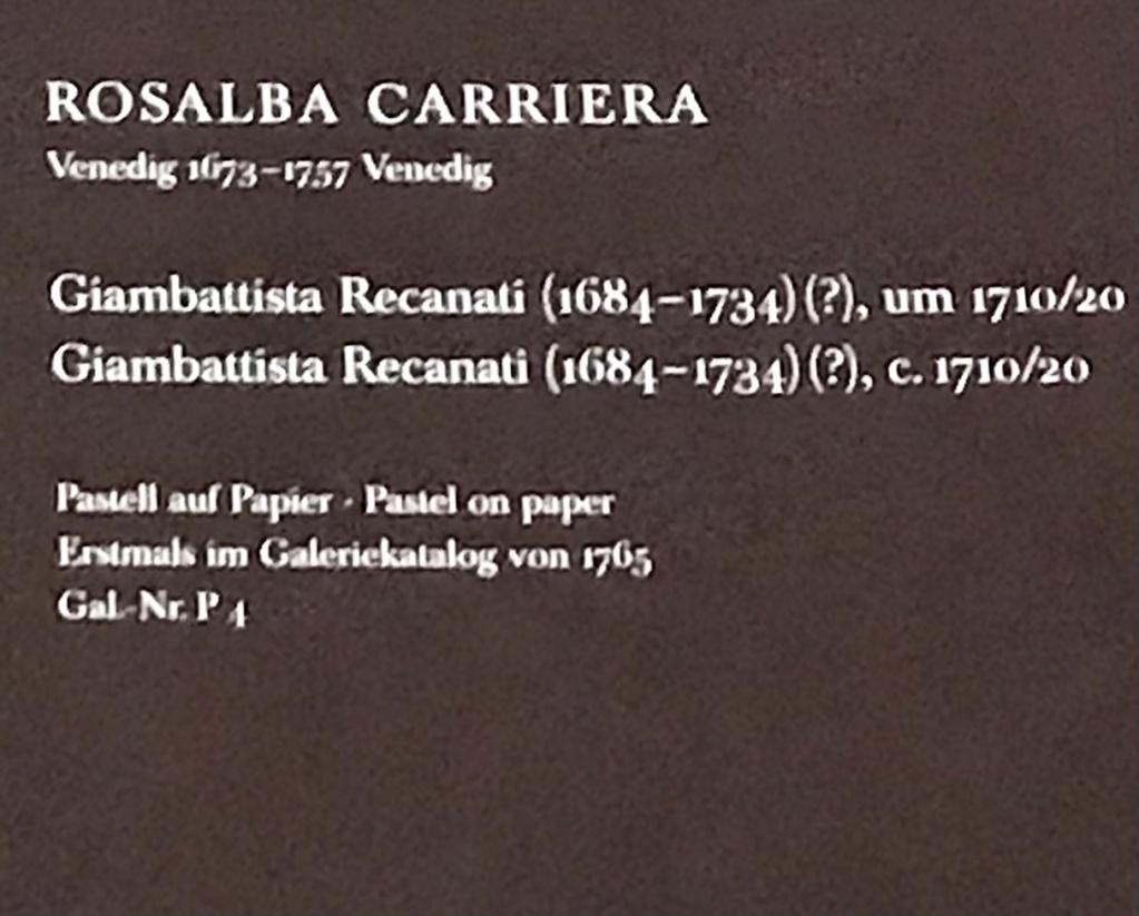 Rosalba Carriera, pastelliste vénitienne 97a38f10