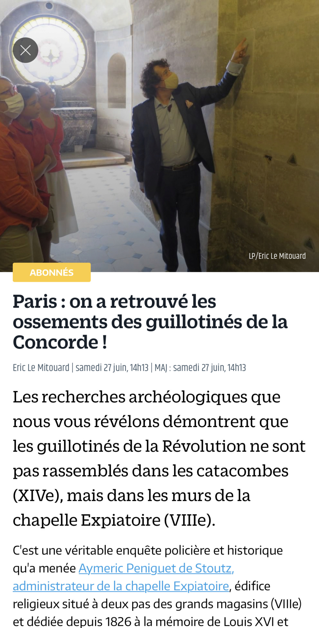La chapelle expiatoire du square Louis XVI, à Paris - Page 3 9cb9e510
