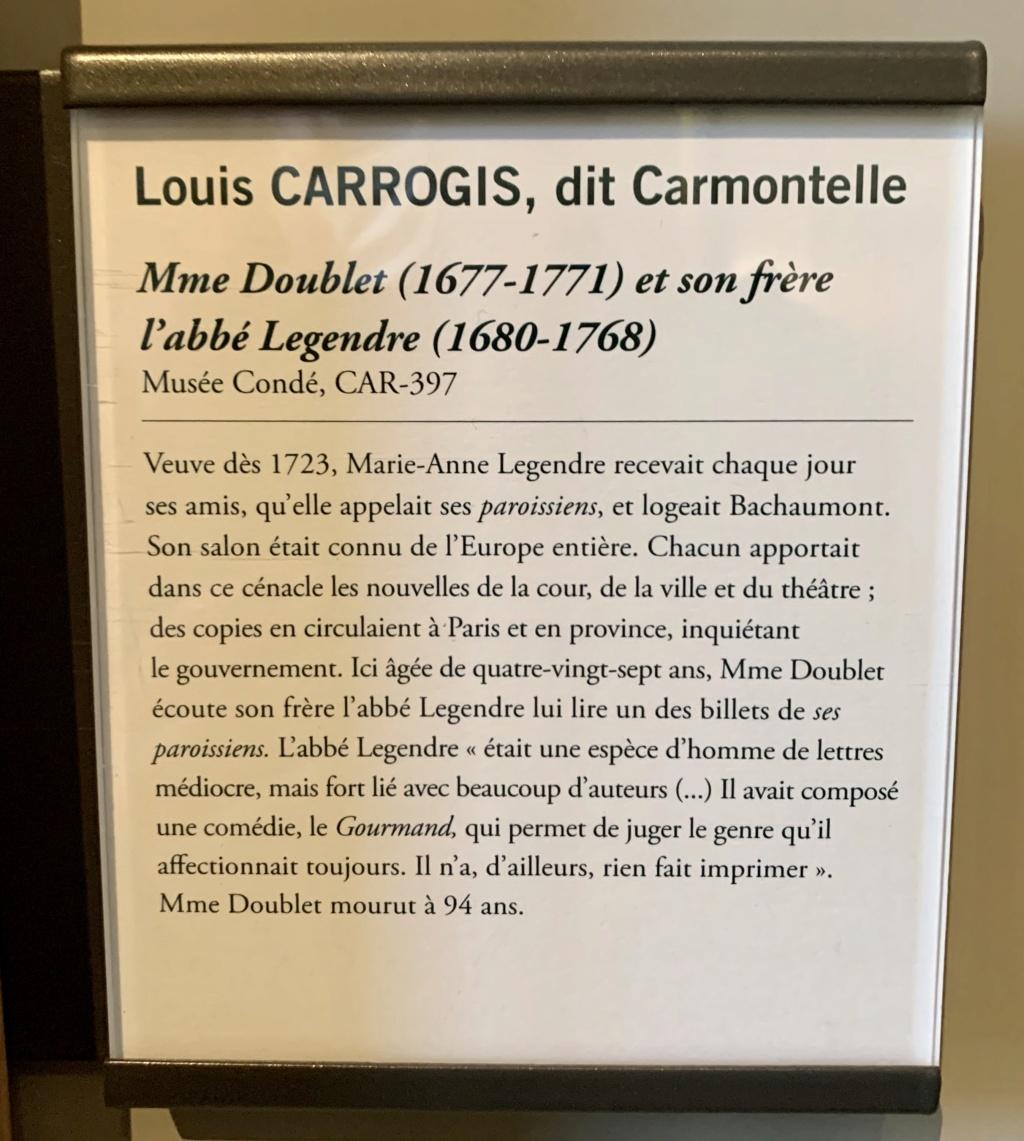 Exposition CARMONTELLE ou la douceur de vivre à Chantilly ! 9fb61a10