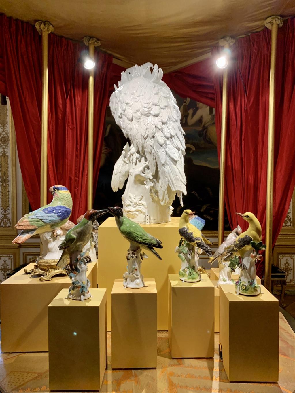 """Chantilly : Exposition """"La fabrique de l'extravagance"""", porcelaines de Meissen et de Chantilly  A3d6fb10"""