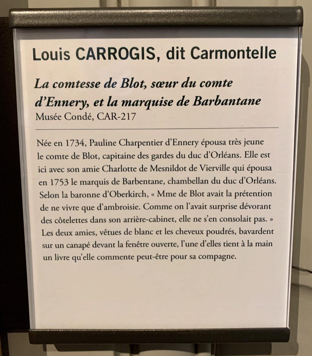 Exposition CARMONTELLE ou la douceur de vivre à Chantilly ! A4455710