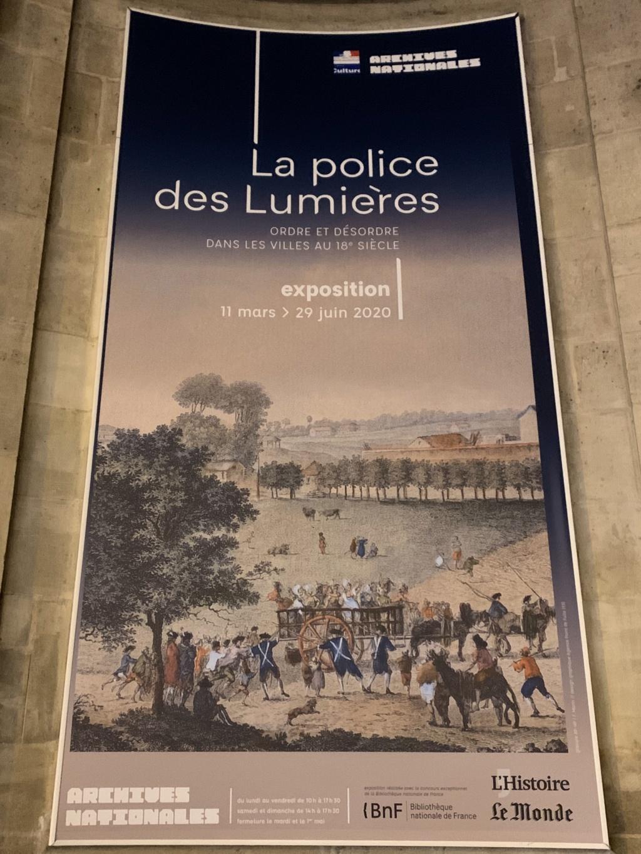 Exposition : «La police des Lumières» - Archives Nationales (Paris) A9718b10