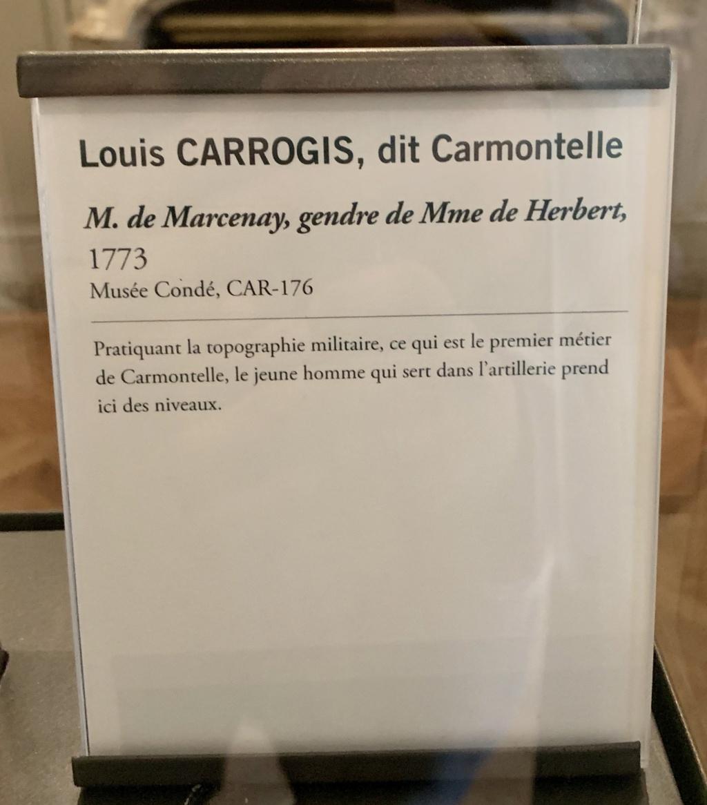 Exposition CARMONTELLE ou la douceur de vivre à Chantilly ! Ad727010