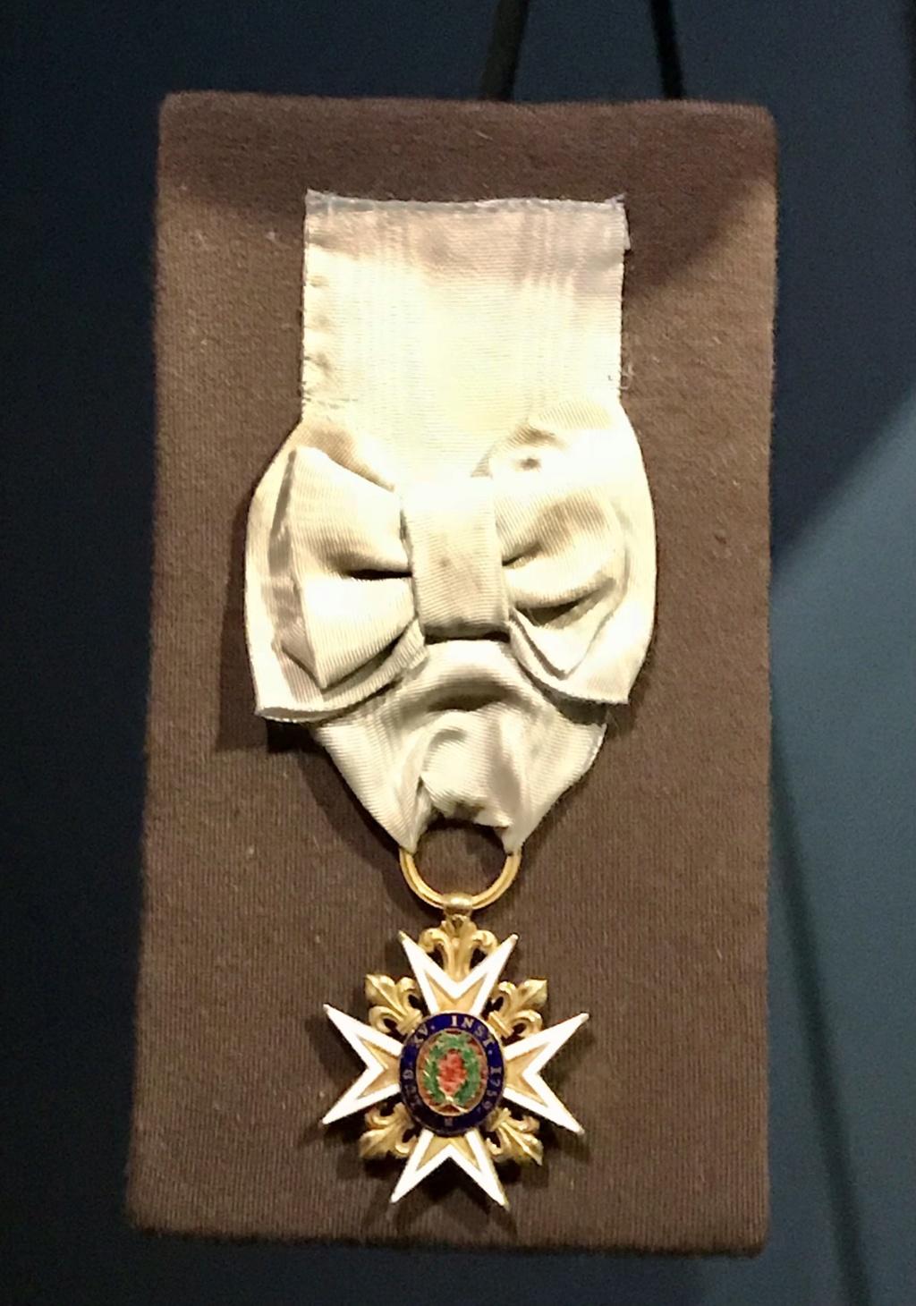 John Paul Jones et l'ordre du Mérite Militaire Ae9eda10