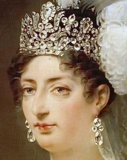 Bijoux de Marie-Antoinette : boucles d'oreilles et girandoles Angoul10