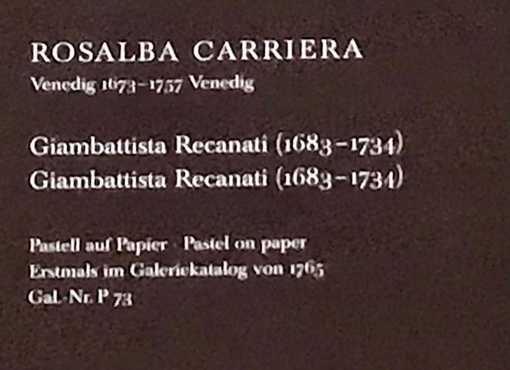 Rosalba Carriera, pastelliste vénitienne C0042410