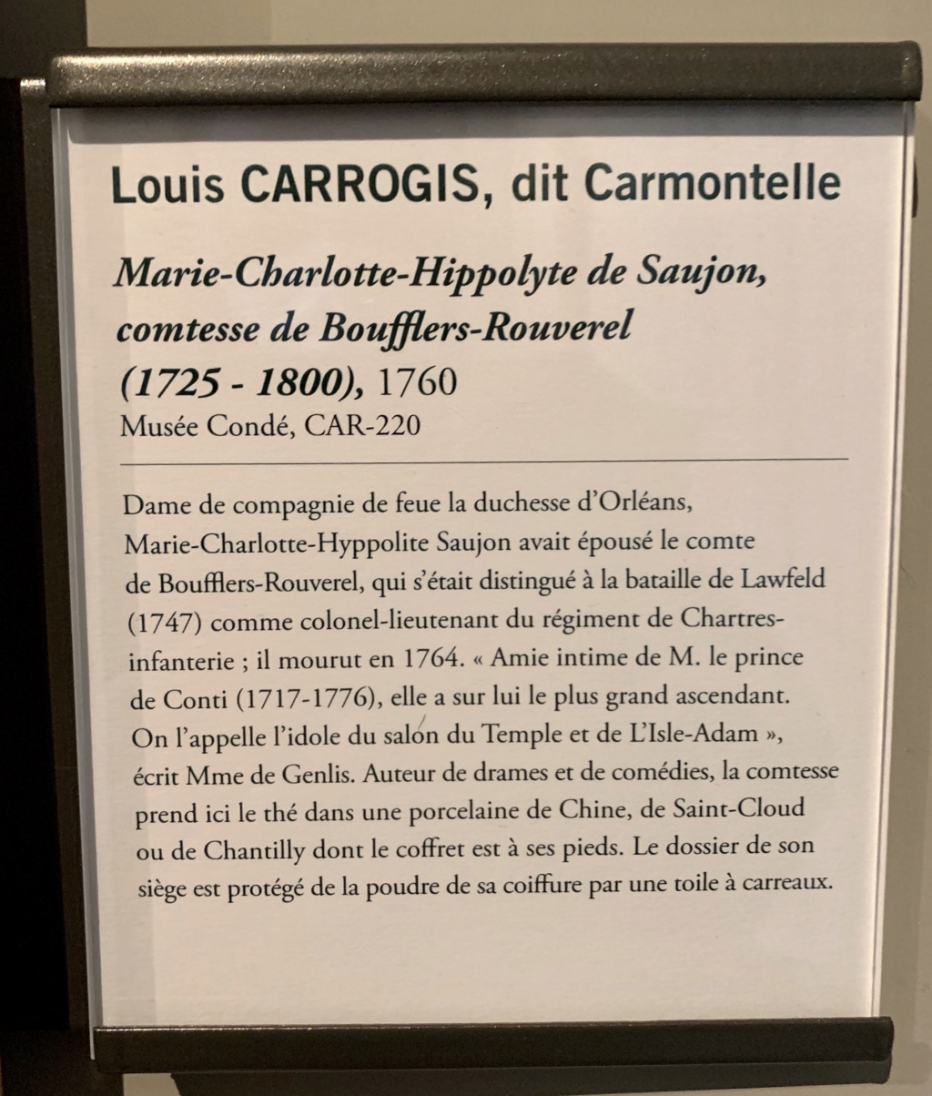 Exposition CARMONTELLE ou la douceur de vivre à Chantilly ! C1afea10