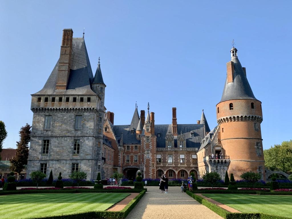 Le château de Maintenon  D1e11110