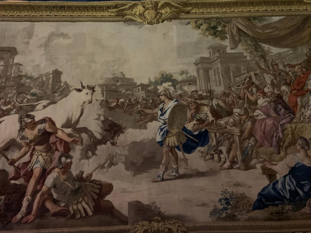 Les visites des archiducs Maximilien et Ferdinand d'Autriche, à Versailles D4c2a510