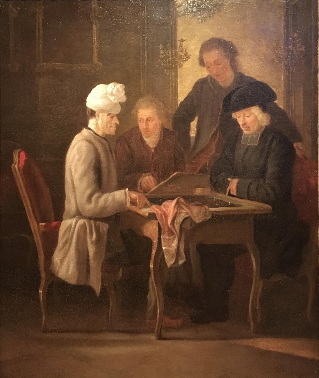 Catherine II  achète la bibliothèque de Voltaire D7393610