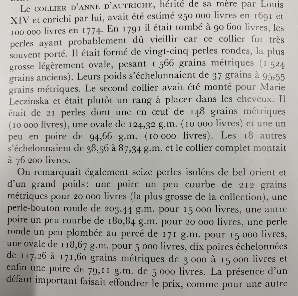 Quatre perles parmi les plus célèbres au monde : La Régente (Perle Napoléon), La Pélégrina, La Pérégrina, La perle de Marie-Antoinette - Page 2 D7a66010