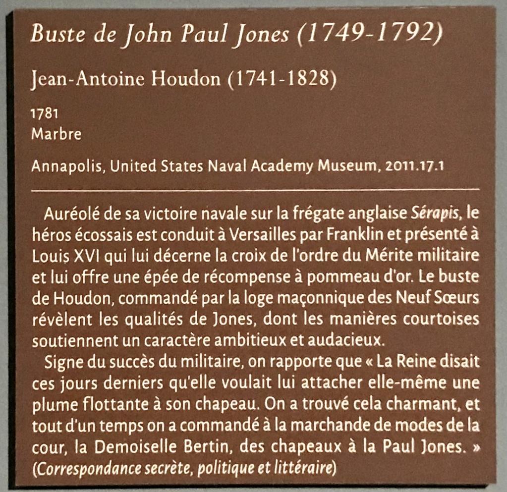John Paul Jones et l'ordre du Mérite Militaire Ddb68310