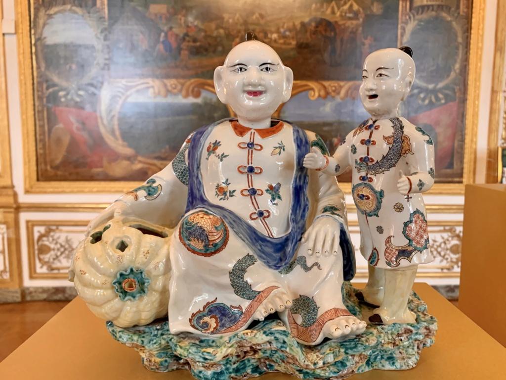"""Chantilly : Exposition """"La fabrique de l'extravagance"""", porcelaines de Meissen et de Chantilly  E5a61d10"""