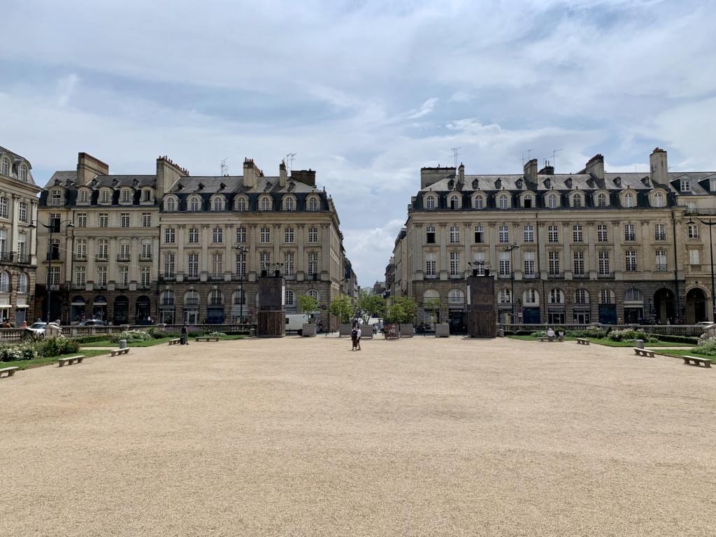 Le parlement de Bretagne à Rennes  E9850710