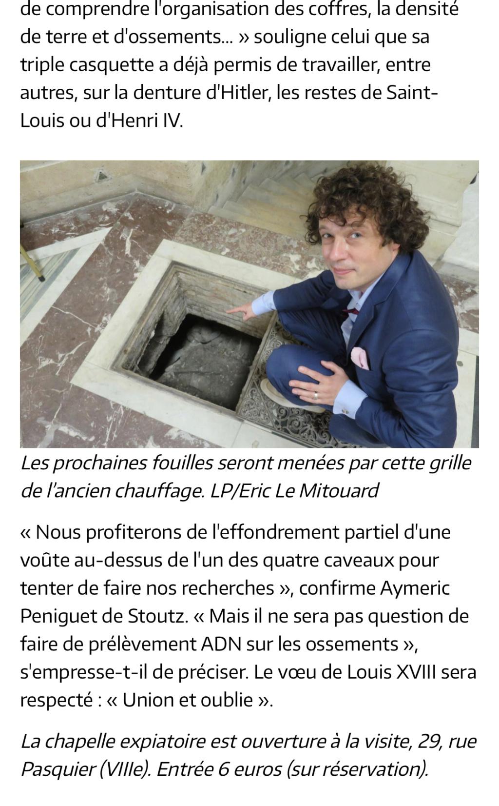 La chapelle expiatoire du square Louis XVI, à Paris - Page 3 F0491910