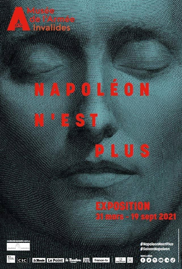 Expositions et évènements : 2021, année Napoléon. Bicentenaire de la mort de l'empereur Napoléon Ier.  F120eb10