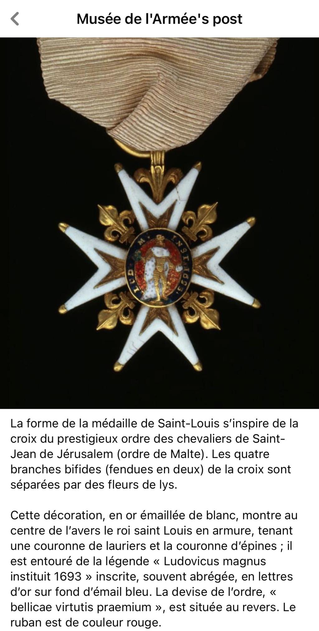 L'ordre militaire de Saint-Louis F54fa110