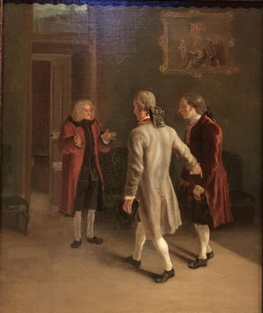 Catherine II  achète la bibliothèque de Voltaire Fb007b10