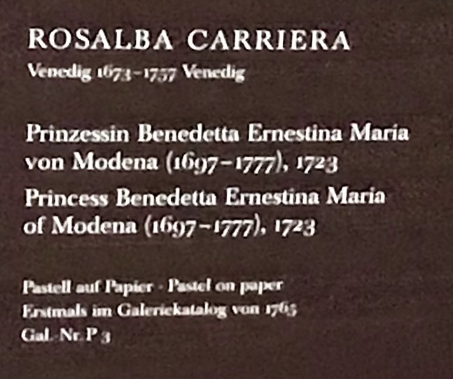 Rosalba Carriera, pastelliste vénitienne Fb1dae10