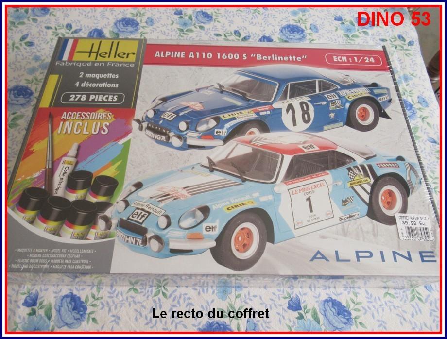 ALPINE A110 1600S  X2 DISPONIBLE CHEZ JOUETCLUB Coffre10