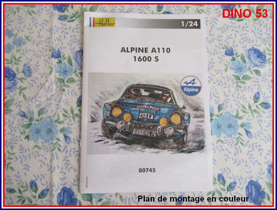 ALPINE A110 1600S  X2 DISPONIBLE CHEZ JOUETCLUB Coffre13