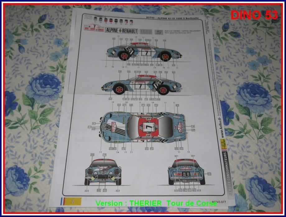 ALPINE A110 1600S  X2 DISPONIBLE CHEZ JOUETCLUB Coffre25