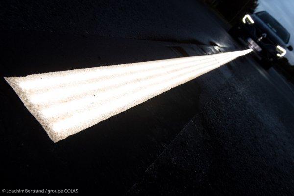 Un nouveau système d'éclairage pour sécuriser la chaussée 20171011