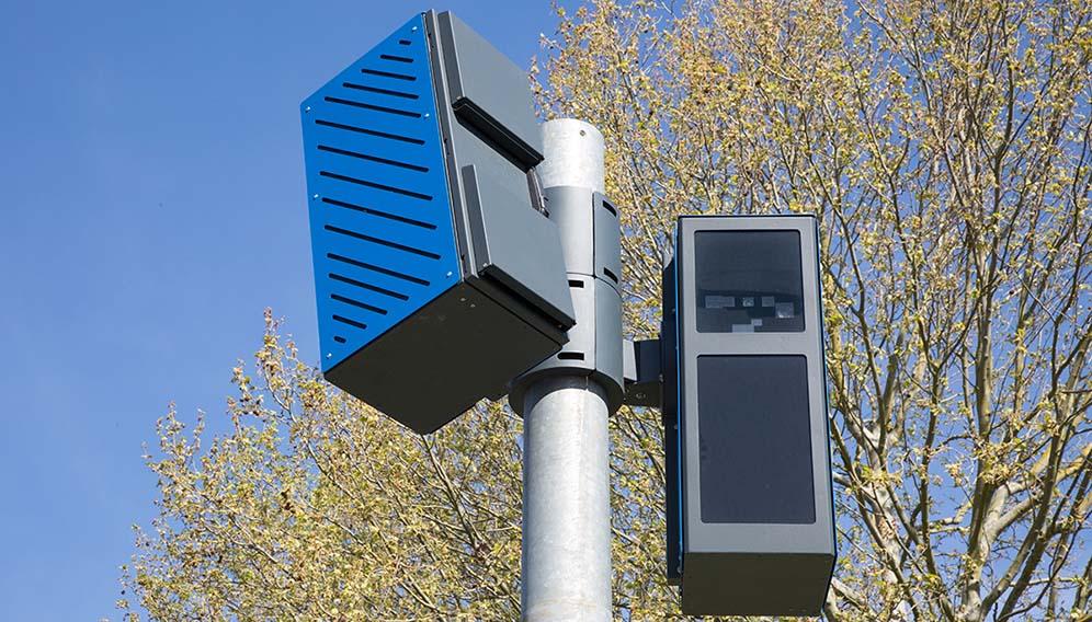 Nouveau radar urbain en test près de Paris Arton310