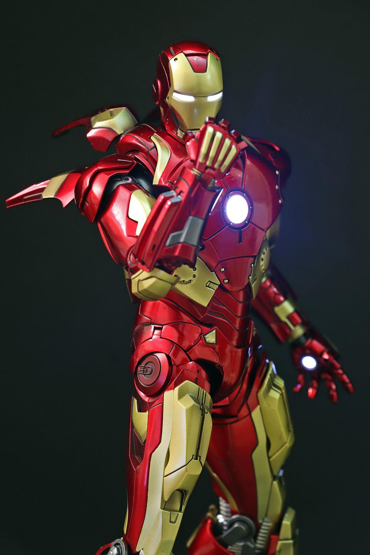 Iron Man 3 - Mark X / Mark 10 1/9 Diecast (King Arts) 00523611
