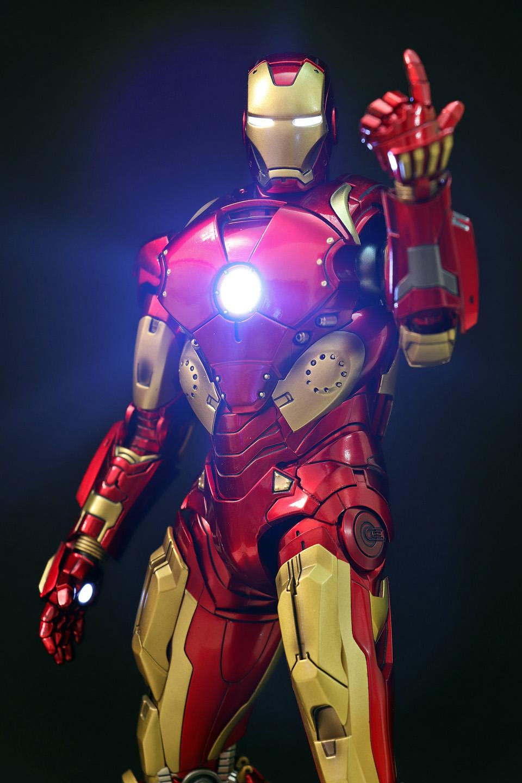 Iron Man 3 - Mark X / Mark 10 1/9 Diecast (King Arts) 00523712