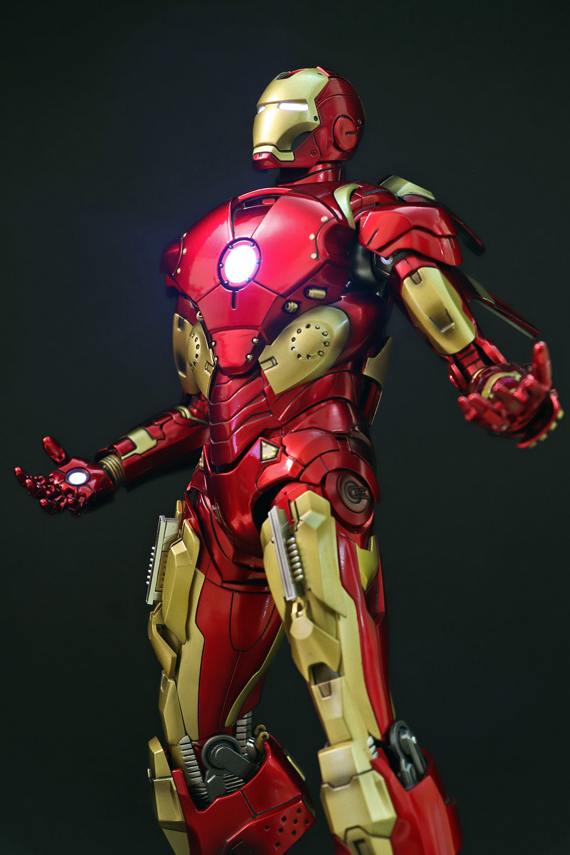 Iron Man 3 - Mark X / Mark 10 1/9 Diecast (King Arts) 00523713