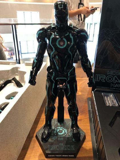 "Iron Man 2 - Mark IV Neon Tech ""Toy Flair Exclusive 2018"" 1/6 (Hot Toys) 11280410"