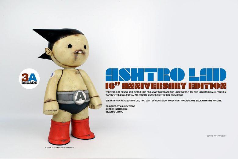 "Ashtro Lad 16"" Vinyl Figure (3A (ThreeA) Toys/threezero) 11584310"