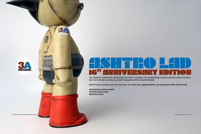 "Ashtro Lad 16"" Vinyl Figure (3A (ThreeA) Toys/threezero) 11585310"