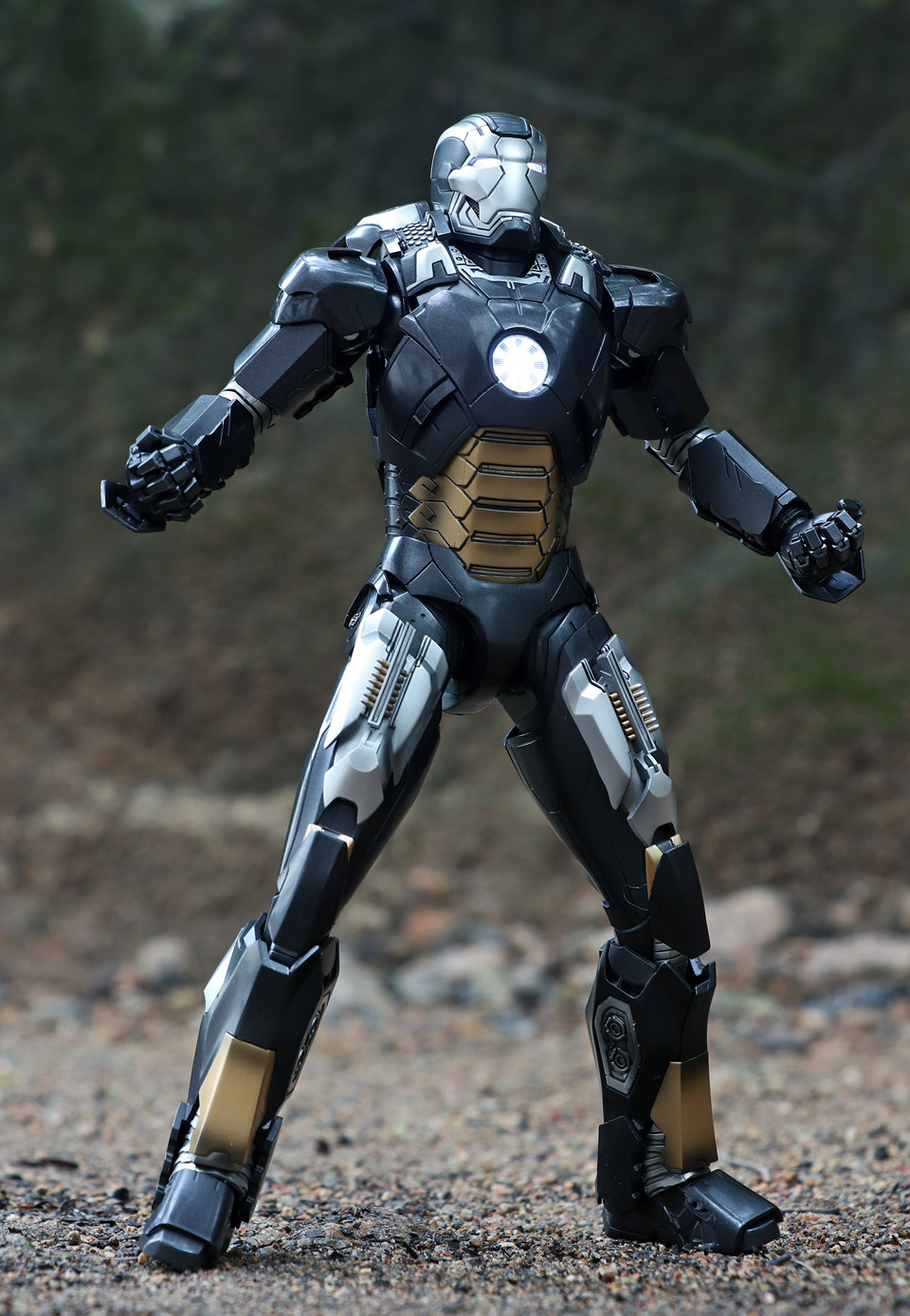 Iron Man 3 - Mark XII / Mark 12 1/9 Diecast (King Arts) 23553212
