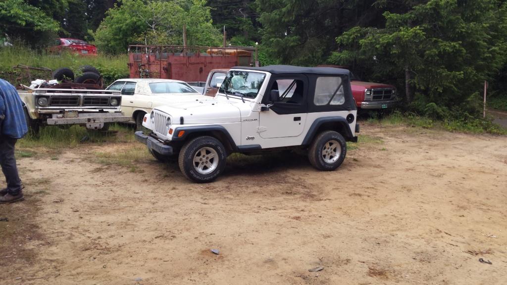 1997 Jeep wrangler  20180610