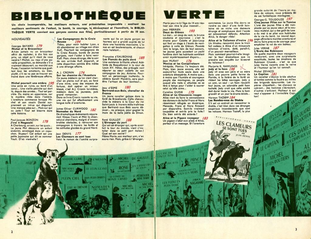 Mystère de la Bibliothèque Verte / Bibliothèque de la Jeunesse Scan1029