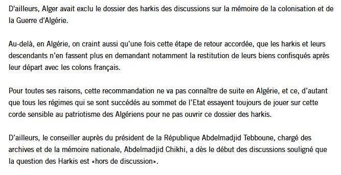 """Algérie : Benjamin Stora dénonce ceux qui vivent d'une '""""rente mémorielle"""" 000310"""