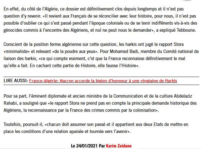 """Algérie : Benjamin Stora dénonce ceux qui vivent d'une '""""rente mémorielle"""" 000510"""