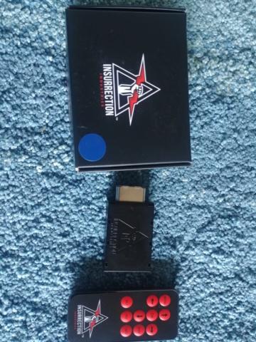 Carby V2 de Insurrection Industries- doubleur de scanlines et conversion HDMI 480p pour Gamecube 20191156