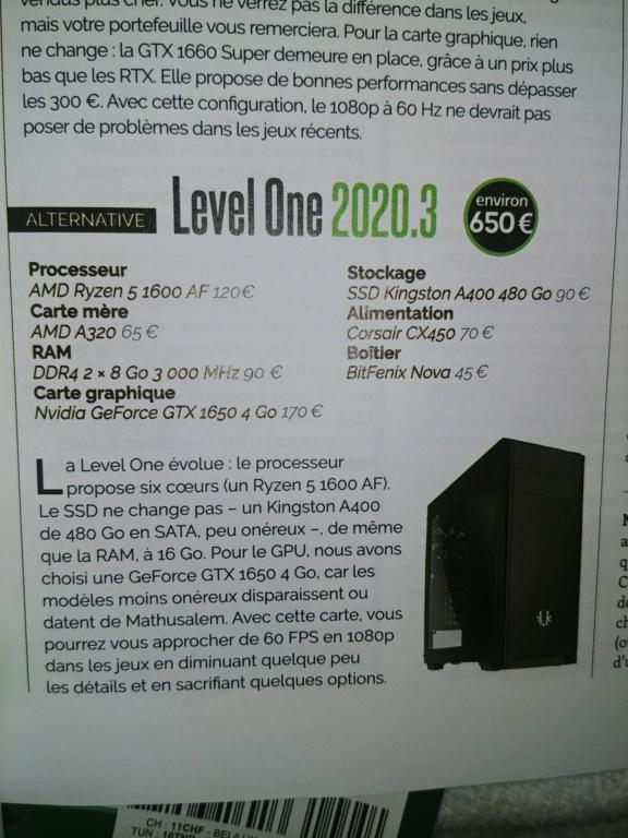 [Help] PC gamer entrée de game 20200710