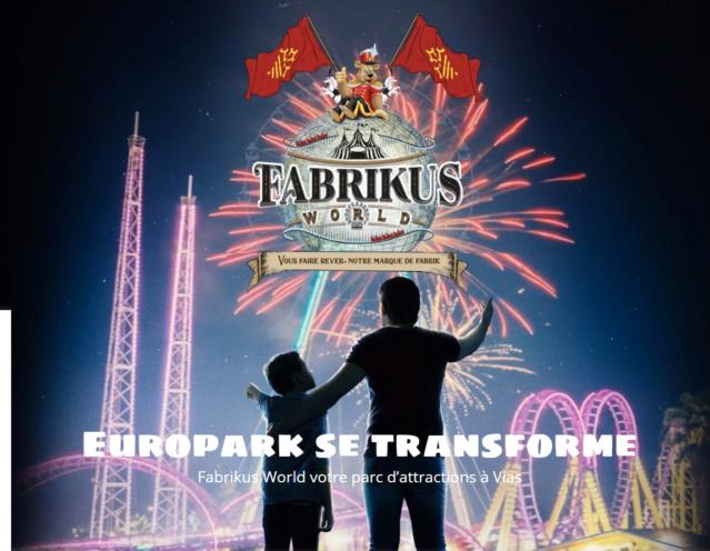 Europark vias plage devient Fabrikus World  Fabrik10