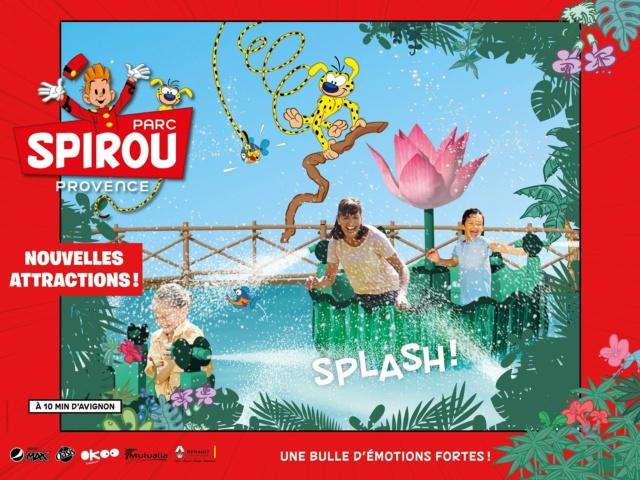 Parc Spirou Provence [France] (16 juin 2018) - Page 20 Splash11