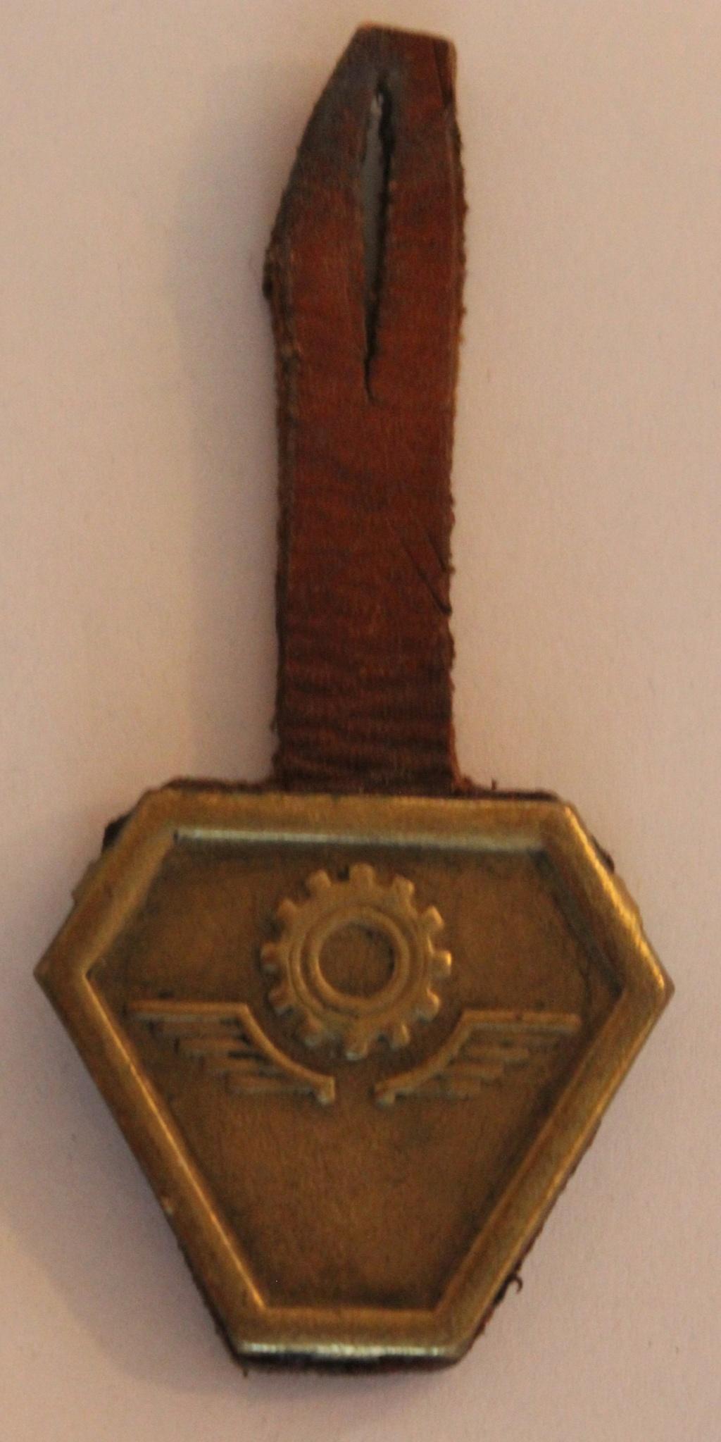 insigne à identifier aile et roue dentée Img_5916